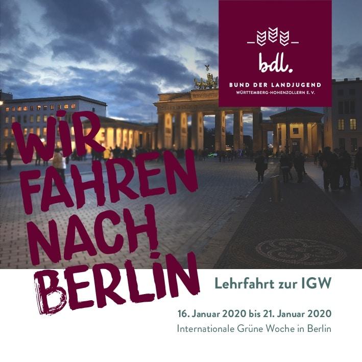 Wir fahren nach Berlin